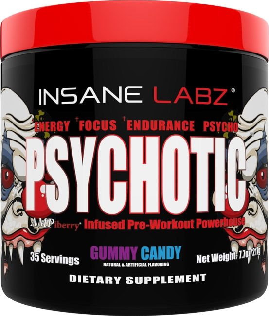 psychotic pre-workout